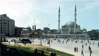 Taksim Camisi'nin temel atma töreni yarın yapılacak