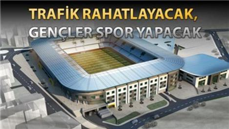 Zeytinburnu'nun altına otopark, üstüne spor kompleksi!