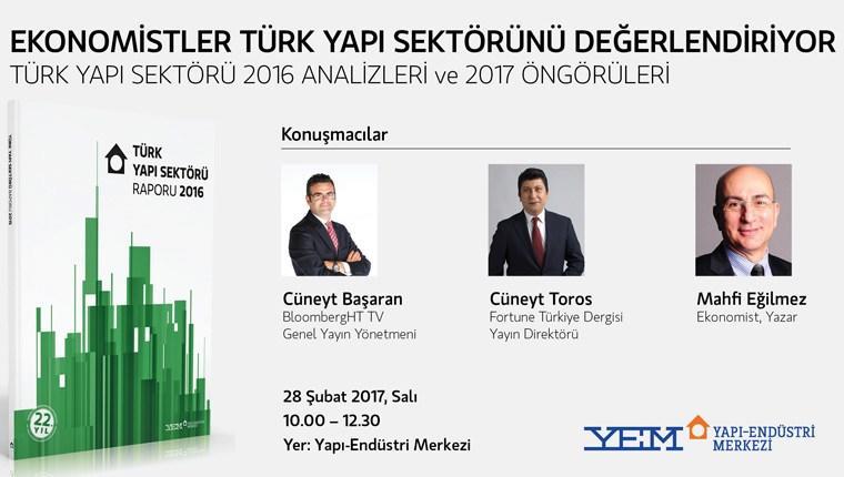 Türk Yapı Sektörü 2016 Raporu 28 Şubat'ta açıklanıyor!