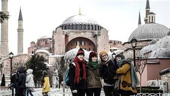 İstanbul, 2016'da 9,2 milyon turisti ağırladı!