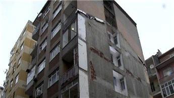 Kentsel dönüşüm için boşaltılan evi soydular