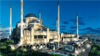 Çamlıca Camisi'nin aydınlatması özel olacak!