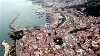 Trabzon'daki riskli alanlar yıkıldı