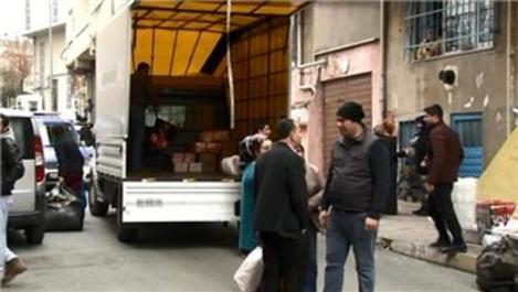 İstanbul Bağcılar'da 4 binada çatlaklar oluştu