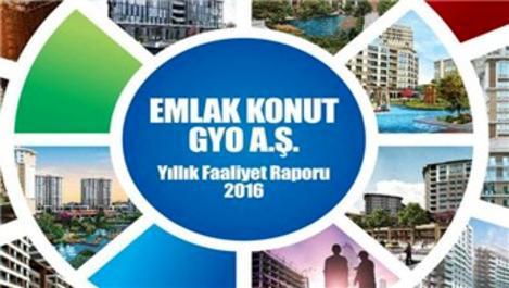 Emlak Konut GYO, 2016 faaliyet raporunu yayınladı!