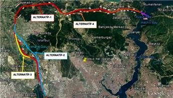 3. Köprü-3. Havaalanı-Halkalı demiryolu projesi başlıyor