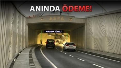 Avrasya Tüneli'nin geçiş ücreti internetten ödenebiliyor!