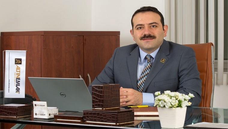 Altın Emlak genel müdürü Mustafa Hakan Özelmacıklı oldu!