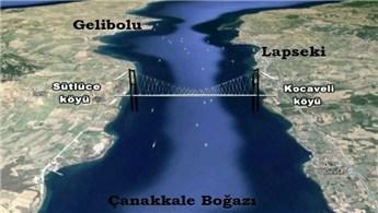 Çanakkale Köprüsü'nün temal atma töreni 18 Mart'ta