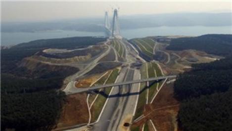 Kuzey Marmara Otoyolu bağlantı yolunun imar planı askıda