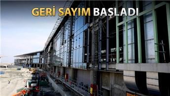 İstanbul Yeni Havalimanı'nın terminal binası bitiyor!