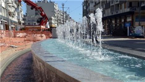 Antalya'nın Şarampol Caddesi şantiye alanına döndü