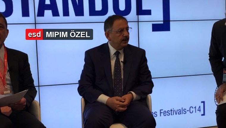 Bakan Özhaseki: İnşaat baş tacımız olmayı sürdürecek