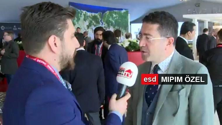 Murat Kalsın MIPIM'de ESD canlı yayınına konuk oldu!