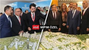 Bakan Mehmet Özhaseki, BIG ve TOKİ standında!