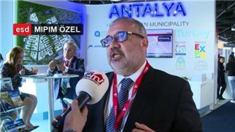 Mehmet Urcu, MIPIM'de Antalya'nın projelerini anlattı