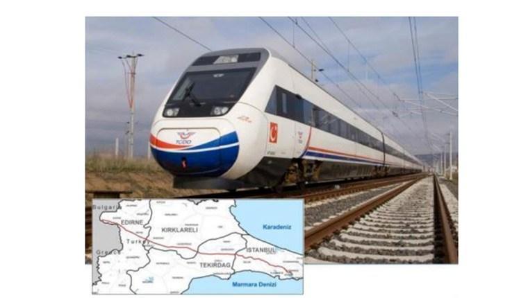 Halkalı-Kapıkule Demiryolu ile İstanbul-Edirne arası kısalıyor