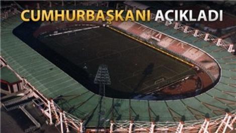 19 Mayıs Stadı yıkılıyor, yerine yenisi geliyor!
