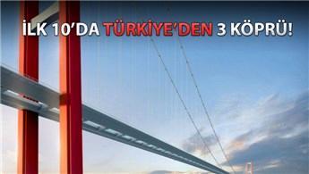 İşte dünyanın en uzun köprüleri!