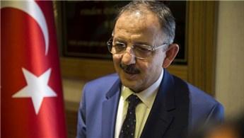Mehmet Özhaseki: 7 bölgede evlerin bir çoğu yapıldı
