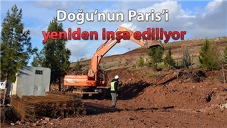 Sur'da geleneksel Diyarbakır evlerinin yapımı başladı!