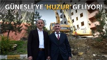 Huzurlu Marmara Güneşli için yıkımlar başladı!