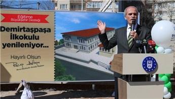 Bursa'daki Demirtaşpaşa İlkokulu yenileniyor