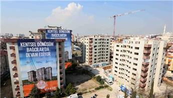 Bağcılar'da Kentsel Dönüşüm Projesi'nin yıkımı gerçekleşti