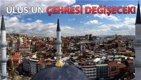 Ulus İtfaiye Meydanı Camisi açılış için gün sayıyor