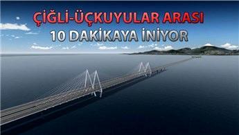 İzmir Körfez Geçişi Projesi için 2023 müjdesi!