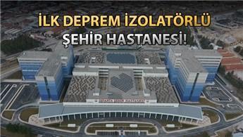 Isparta Şehir Hastanesi'nin resmi açılışı bugün yapılıyor