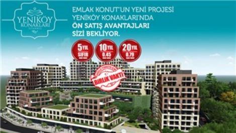 Yeni Yapı Yeniköy Konakları'nda avantajlı fiyatlar!