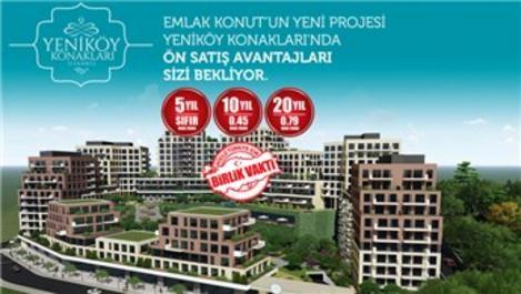 Yeniköy Konakları'nın yapı ruhsatı alındı