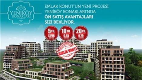 Yeniköy Konakları Alibeyköy ön satışa çıktı!