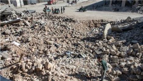 Halep'in Bab ilçesi şantiye alanına döndü