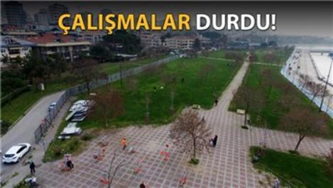 Fenerbahçe sahilindeki tenis kortuna Topbaş vetosu!