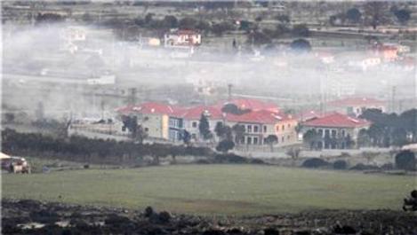 Koruncuk Vakfı'nın İzmir'deki şantiyesinde yangın çıktı