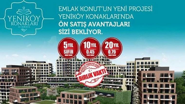 Yeniköy Konakları İstanbul, Nisan 2019'da teslim edilecek!