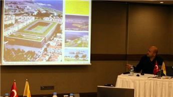 'Göztepe Stadı'nın önünde engeller olsa da stat yapılacak'