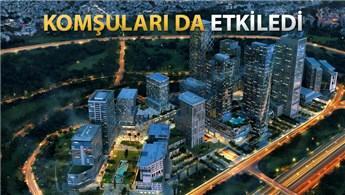 Finans Merkezi'nin 1,5 yılda değeri 800 milyon TL arttı!