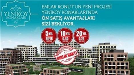 Yeniköy Konakları İstanbul'un teslim tarihi Nisan 2019!