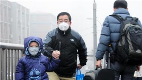 Çin'de hava kirliliği nedeniyle 3 günlük turuncu alarm