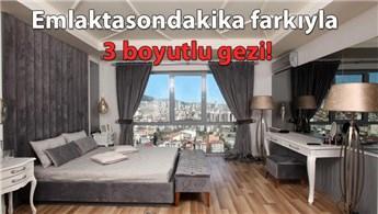 Moment İstanbul'un örnek dairesini şimdi 3D gezin!