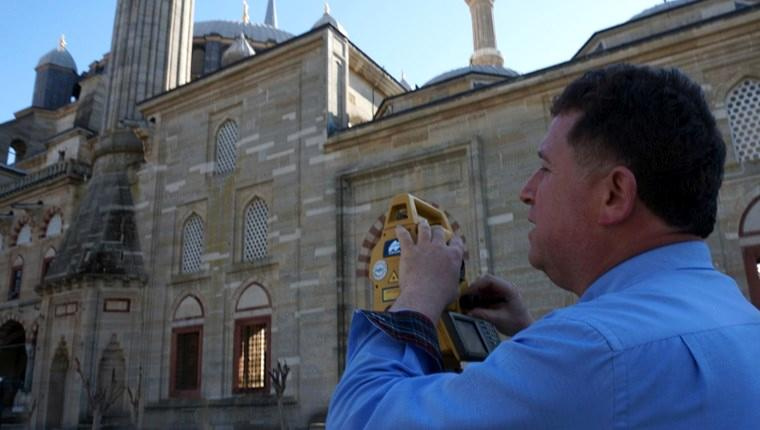 Selimiye Camisi'ne 3 boyutlu modelleme!