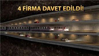 3 Katlı Büyük İstanbul Tüneli için teklif zarfları açılıyor