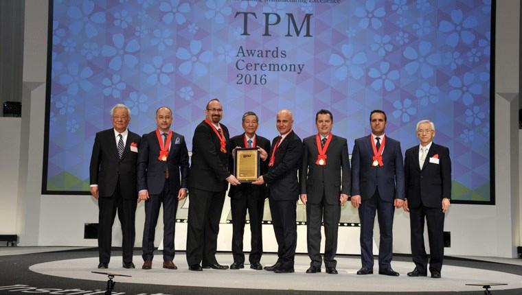 Arçelik TPM World Class ödülünü aldı!