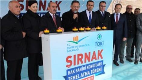 Şırnak'ta 84 eserin açılışı yapıldı