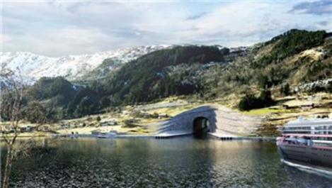 Norveç'te deniz ulaşımı için 315 milyon dolarlık tünel!