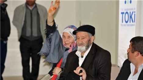 TOKİ, Sivas'ta 67 aileyi konut sahibi yaptı!