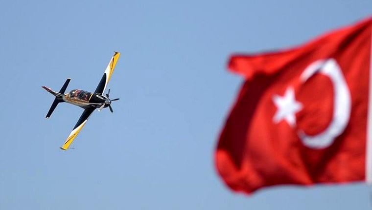 Konya'da silahlı HÜRKUŞ atış gösterimi